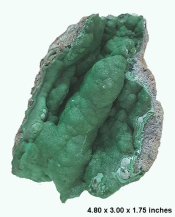 malachite specimen 1a