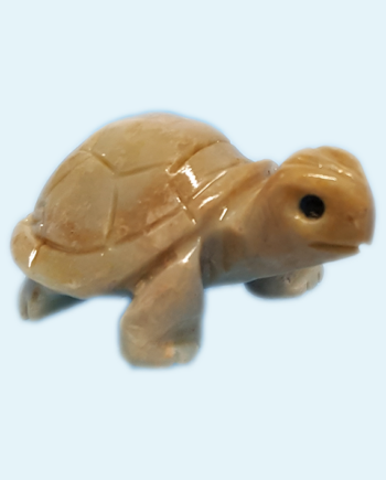 Soapstone Turtle Carving