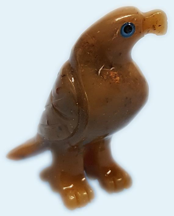 Soapstone Eagle Carving