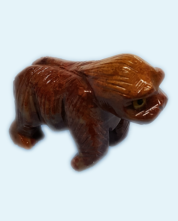 Soapstone Gorilla Carving