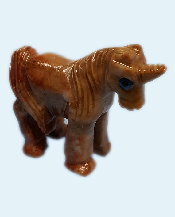 Soapstone Unicorn Carving