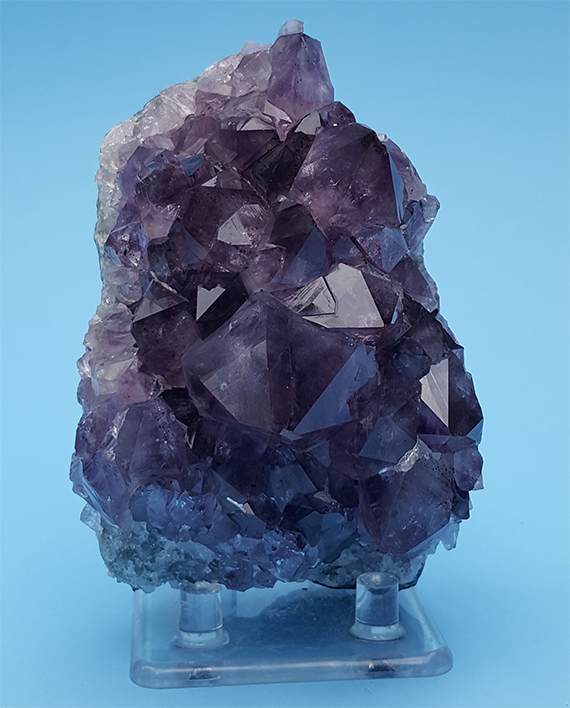 Amethyst Crystal Cluster 4 With Beautiful Crystals And Color