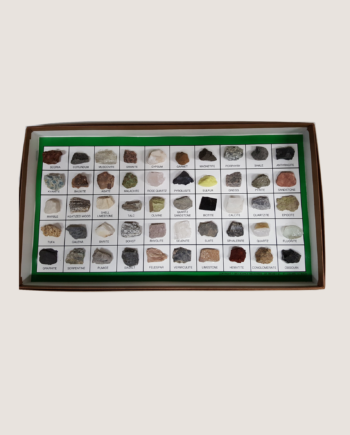 50 piece rock and mineral collection