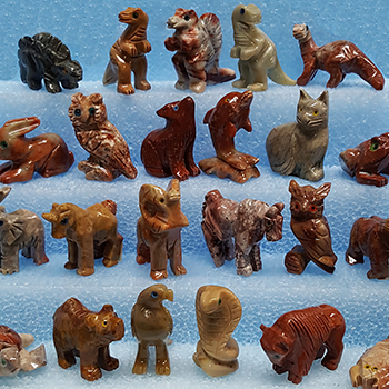 Hand Carved Soapstone Animals