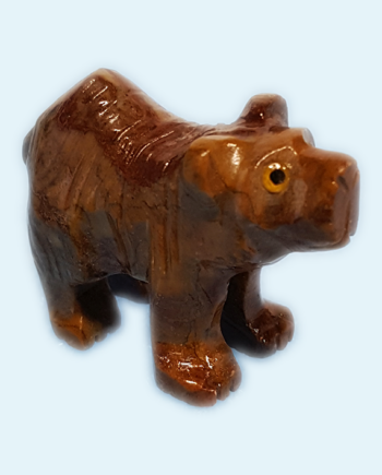 Soapstone Bear Carving