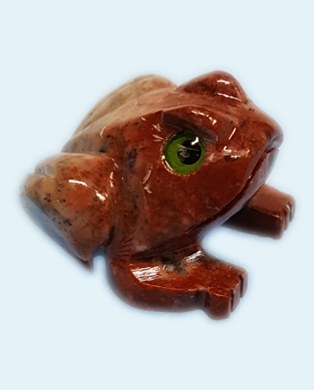 Soapstone Frog Carving