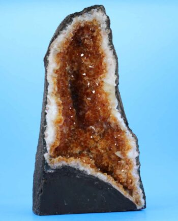 citrine cathedral geode 1