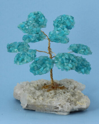 Aquamarine Gemstone Tree