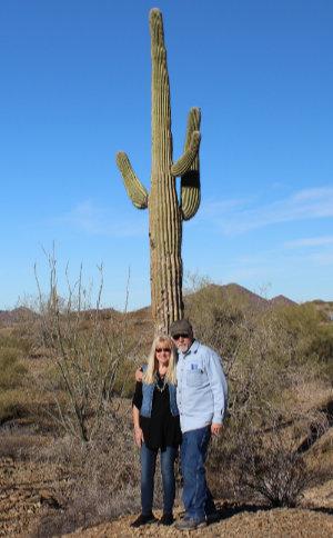 Dave and Jeannie arizona