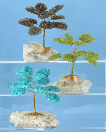 Handcrafted Gemstone Trees