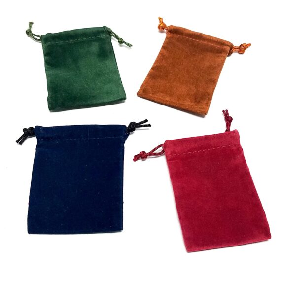 Colored Suede Bags